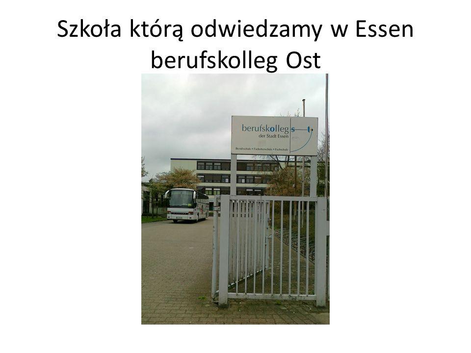 Szkoła którą odwiedzamy w Essen berufskolleg Ost