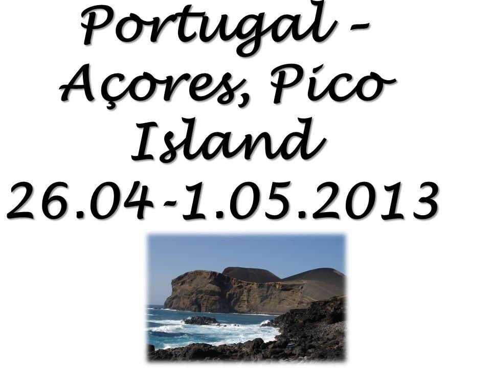 Portugal – Açores, Pico Island 26.04-1.05.2013