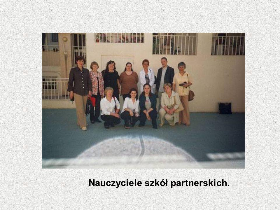 Nauczyciele szkół partnerskich.