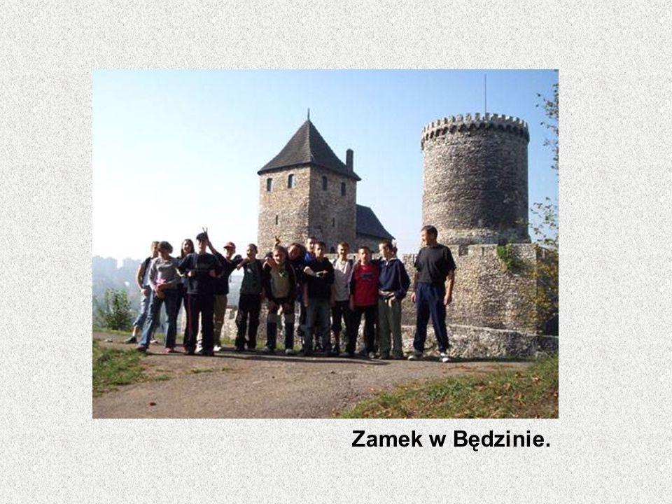 Zamek w Będzinie.