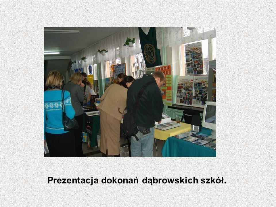 Prezentacja dokonań dąbrowskich szkół.