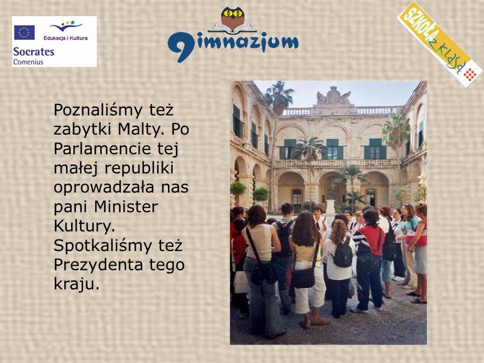 Poznaliśmy też zabytki Malty.
