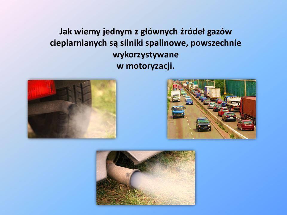 Jak wiemy jednym z głównych źródeł gazów cieplarnianych są silniki spalinowe, powszechnie wykorzystywane w motoryzacji.