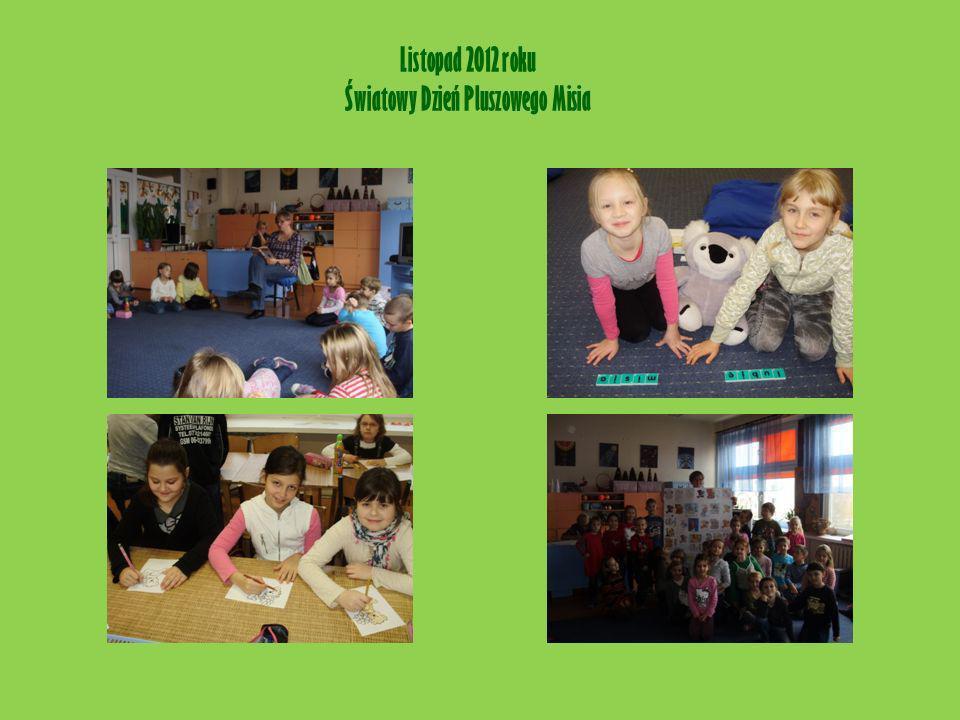 Listopad 2012 roku Światowy Dzień Pluszowego Misia