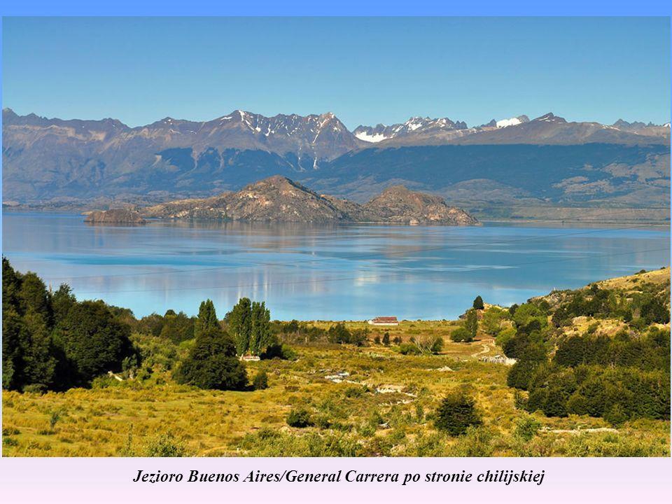 Jezioro Buenos Aires/General Carrera Do jeziora można dostać się od strony chilijskiej.