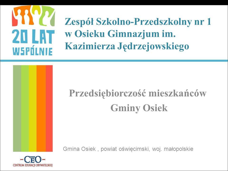 Zespół Szkolno-Przedszkolny nr 1 w Osieku Gimnazjum im.