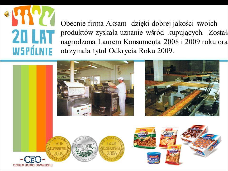 Nowe miejsca pracy źródło: Echa Osieka Wkrótce stało się oczywiste, że dotychczasowy zakład nie jest wystarczający, więc w 2000 roku rozpoczęto rozbud