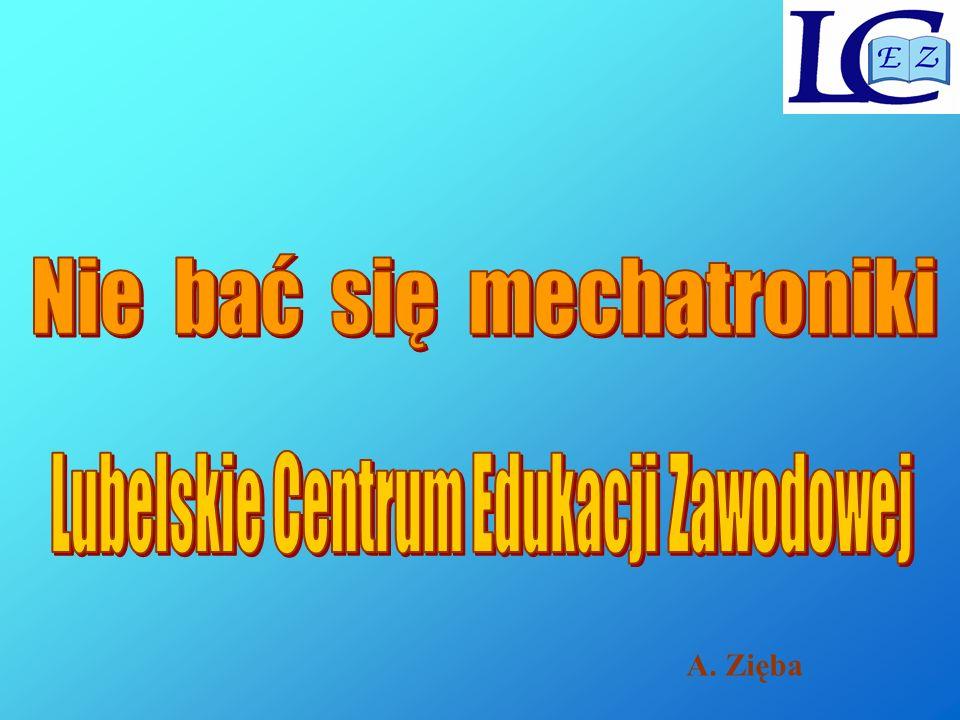 Definicja mechatroniki MECHANIKA MECHATRONIKA INFORMATYKA ELEKTRONIKA