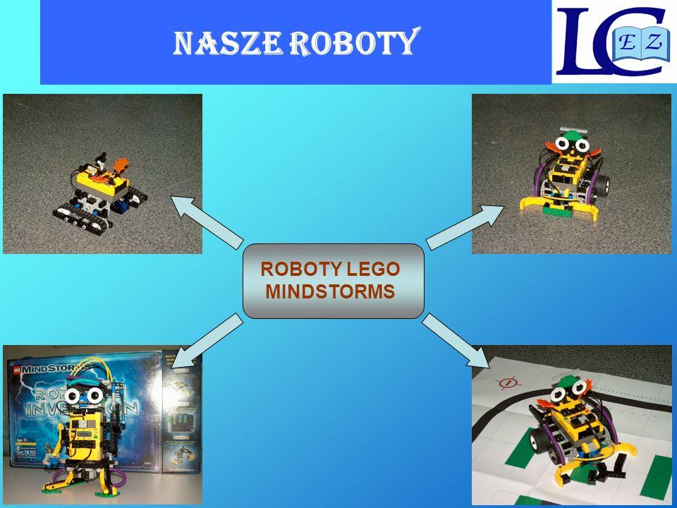 NASZE ROBOTY ROBOTY LEGO MINDSTORMS