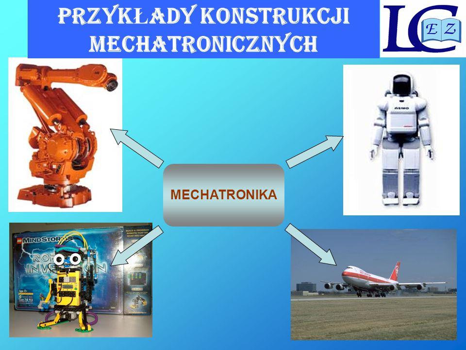 TECHNIKUM MECHATRONICZNE Kształcenie w technikum mechatronicznym jest prowadzone w następujących blokach tematycznych: Podstawy mechatroniki Technologie i konstrukcje mechaniczne Urządzenia i systemy mechatroniczne Pracownia urządzeń mechatronicznych Język obcy zawodowy Zajęcia specjalizacyjne Praktyka zawodowa