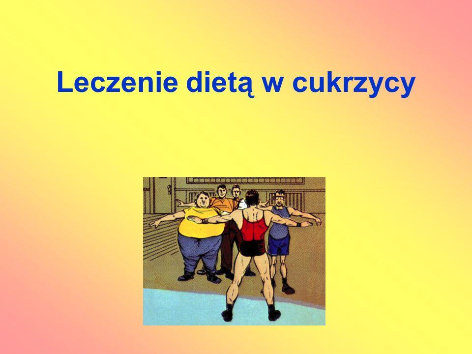 Leczenie dietą w cukrzycy