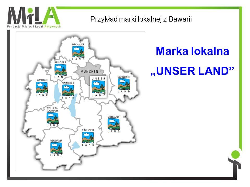 Marka lokalna UNSER LAND Przykład marki lokalnej z Bawarii