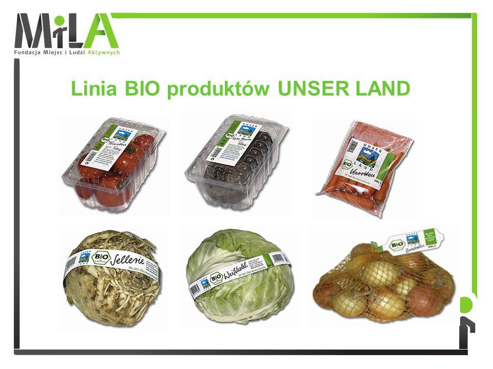 Linia BIO produktów UNSER LAND