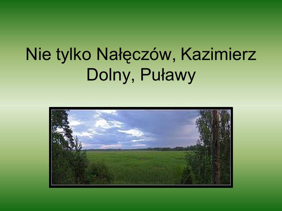 Nie tylko Nałęczów, Kazimierz Dolny, Puławy