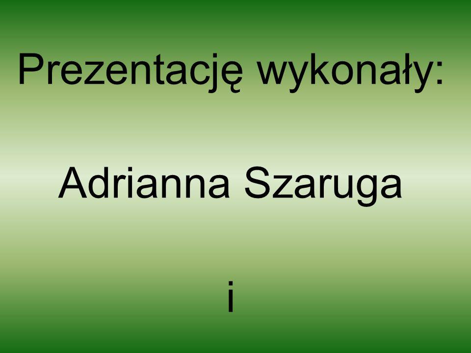 Prezentację wykonały: Adrianna Szaruga i Gabriela Jankowska