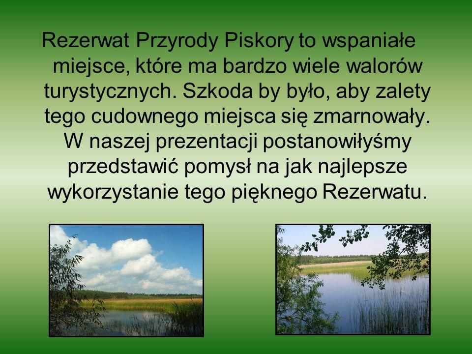 Rezerwat Przyrody Piskory to wspaniałe miejsce, które ma bardzo wiele walorów turystycznych. Szkoda by było, aby zalety tego cudownego miejsca się zma