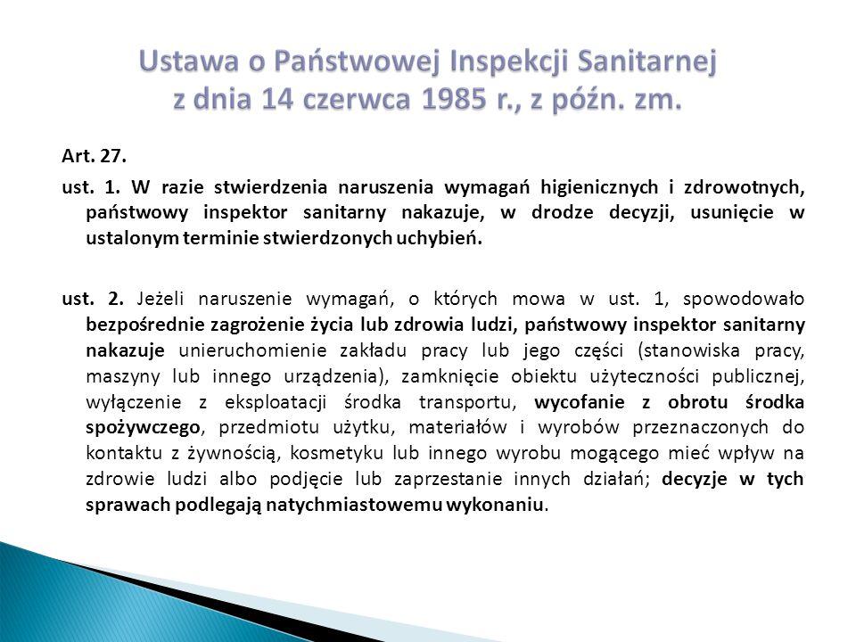 Art. 27. ust. 1.