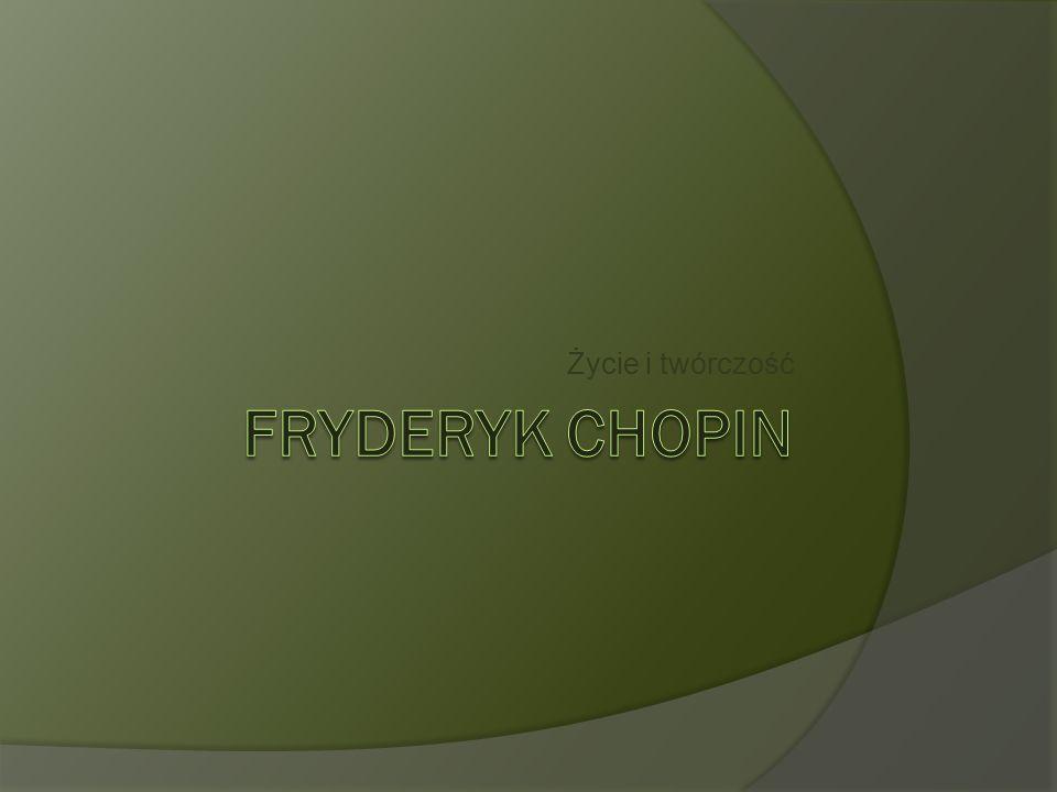 Fryderyk Chopin zmarł 17 października 1849 roku