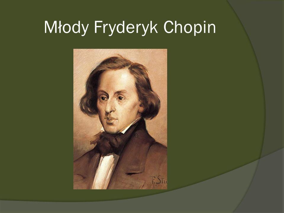 Młody Fryderyk Chopin