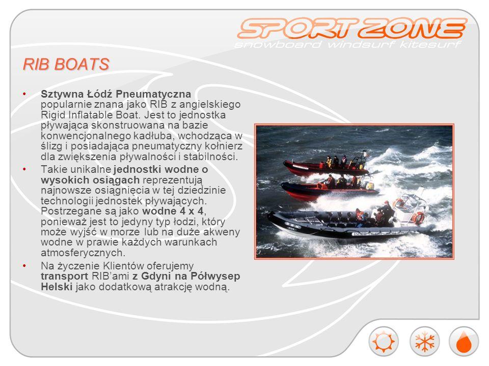 RIB BOATS Sztywna Łódź Pneumatyczna popularnie znana jako RIB z angielskiego Rigid Inflatable Boat.