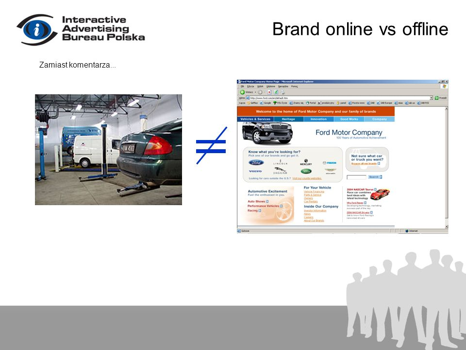 Brand online vs offline Zamiast komentarza...