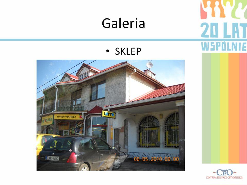 Galeria SKLEP