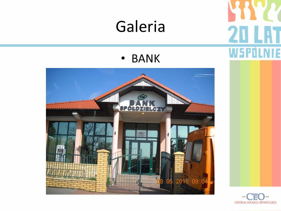 Galeria BANK