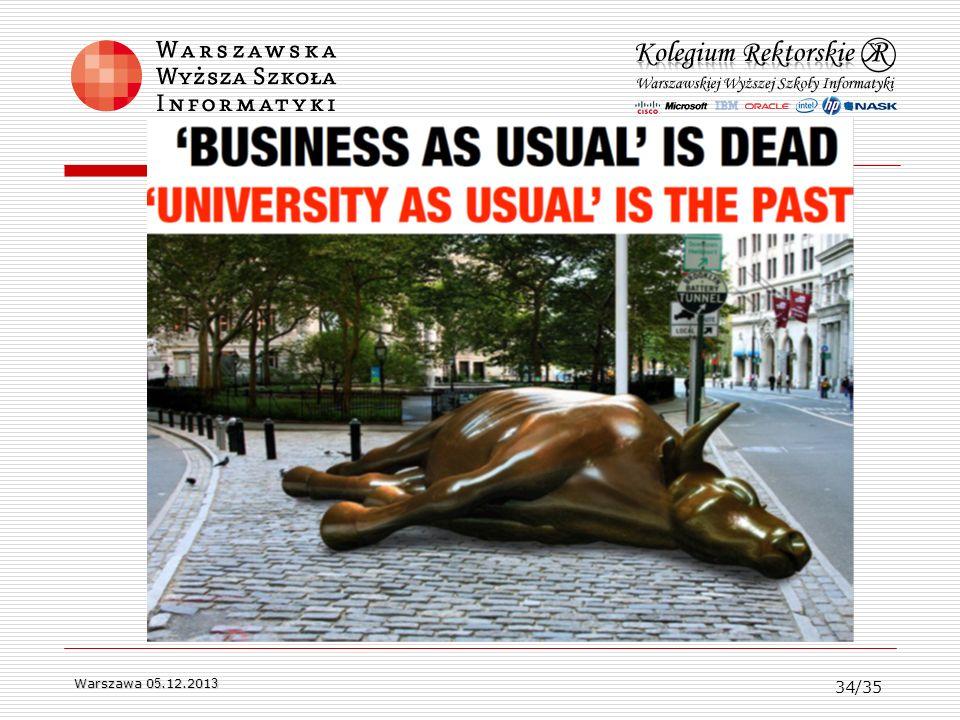 Warszawa 0 5.12.201 3 34/35