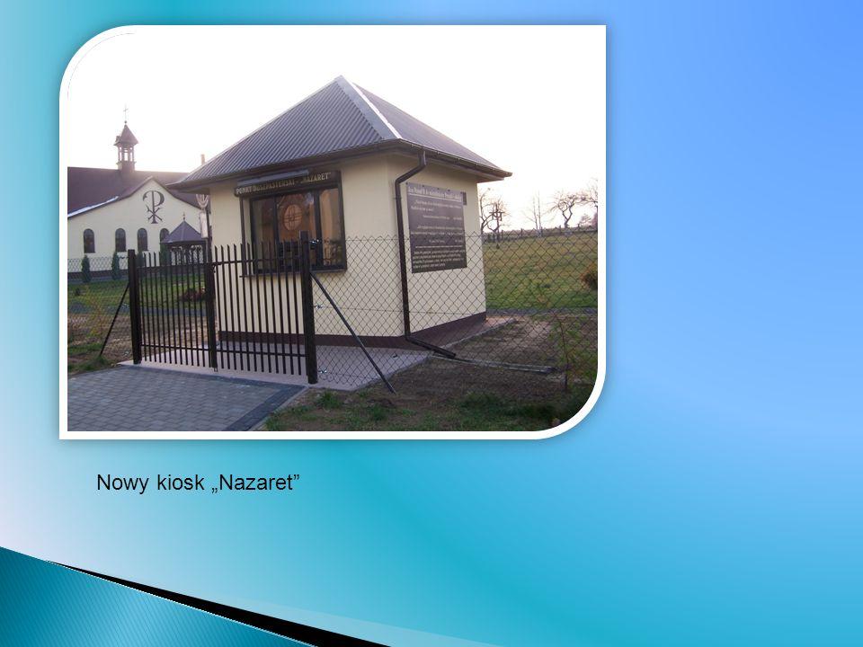 Nowy kiosk Nazaret