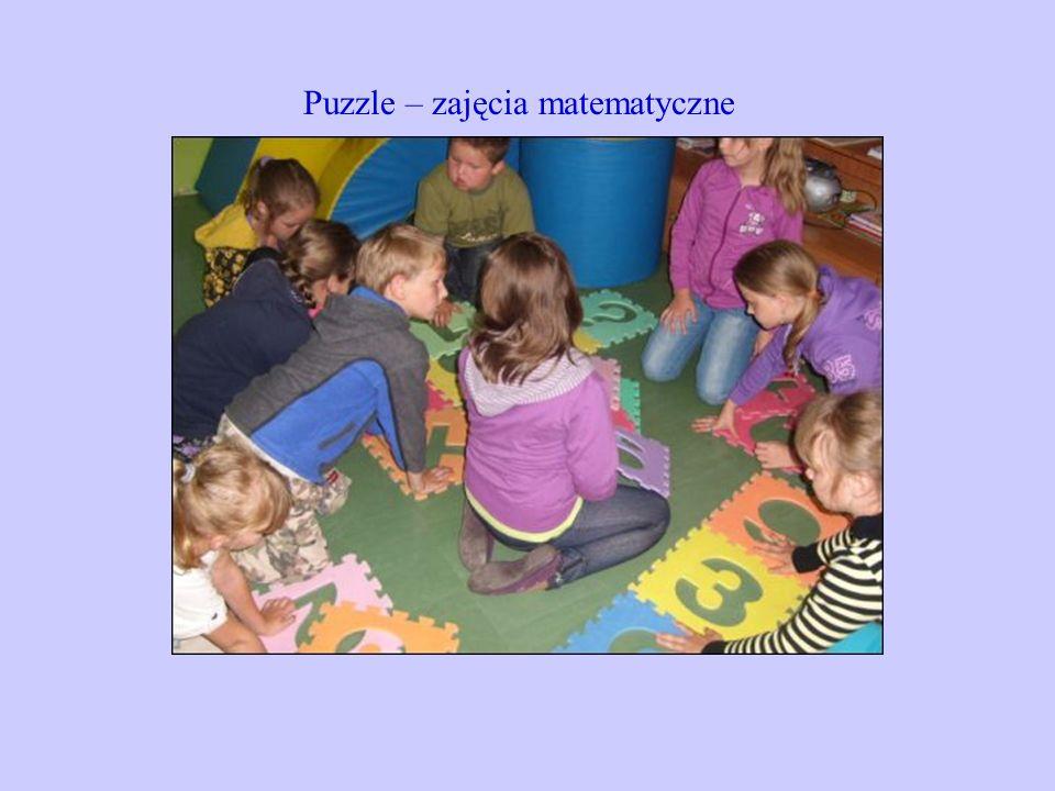 Puzzle – zajęcia matematyczne