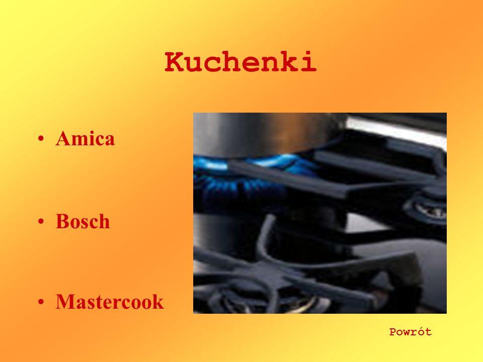 Kuchenki Amica Bosch Mastercook Powrót