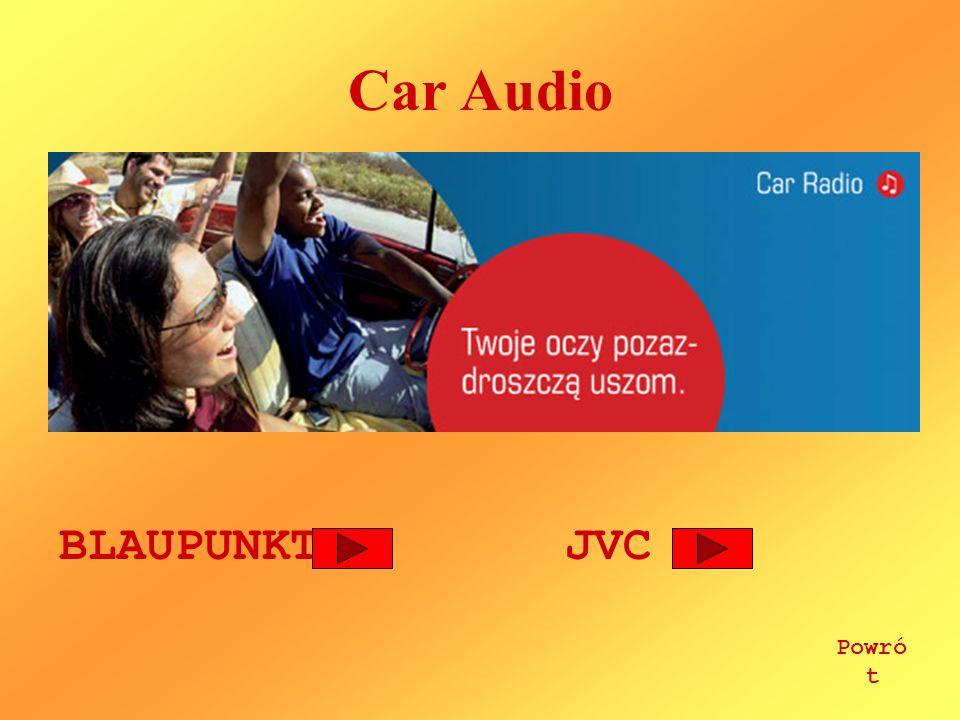 Car Audio BLAUPUNKTJVC Powró t