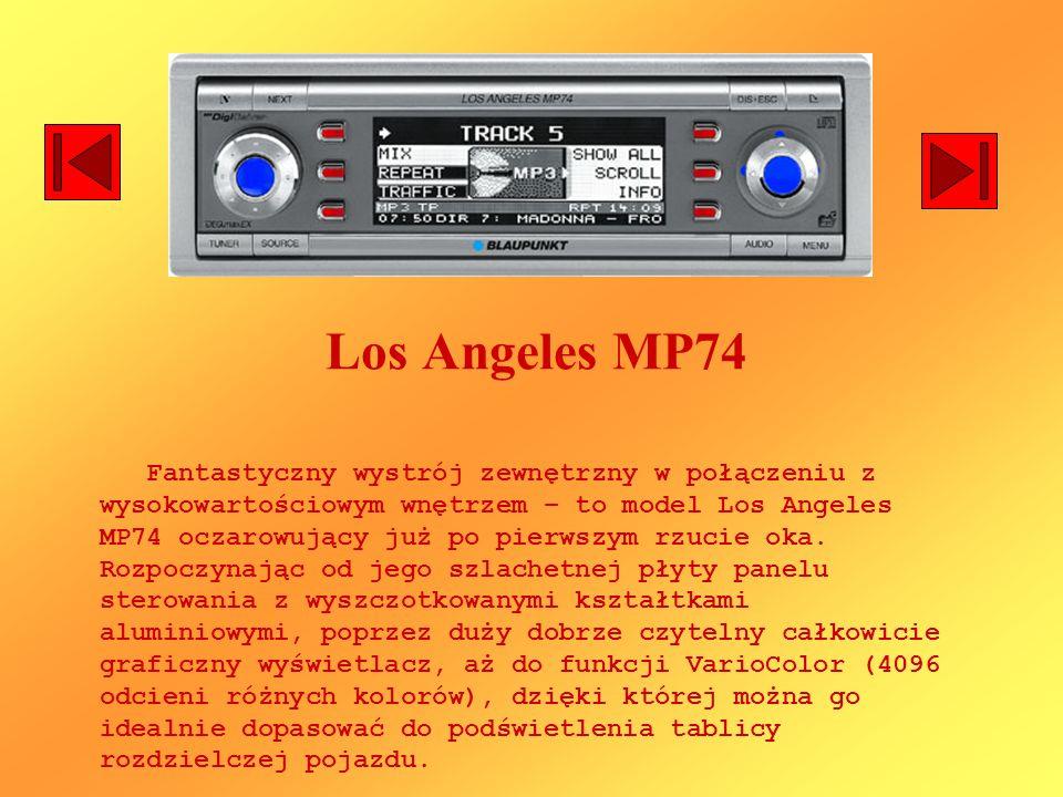 Los Angeles MP74 Fantastyczny wystrój zewnętrzny w połączeniu z wysokowartościowym wnętrzem – to model Los Angeles MP74 oczarowujący już po pierwszym
