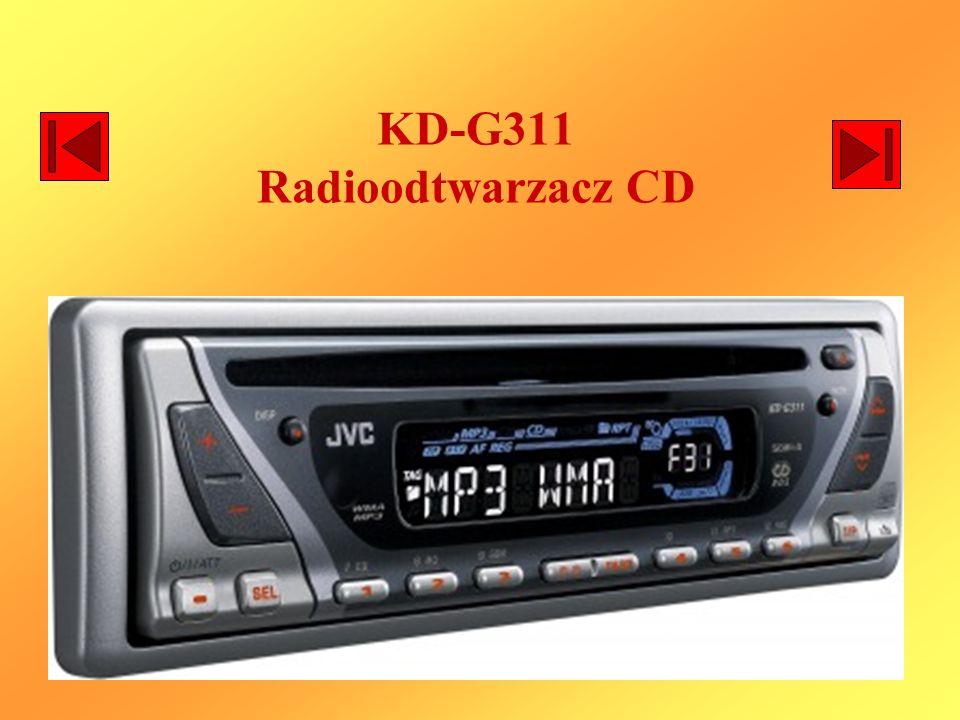 KD-G311 Radioodtwarzacz CD