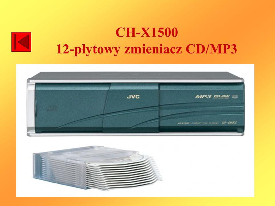 CH-X1500 12-płytowy zmieniacz CD/MP3