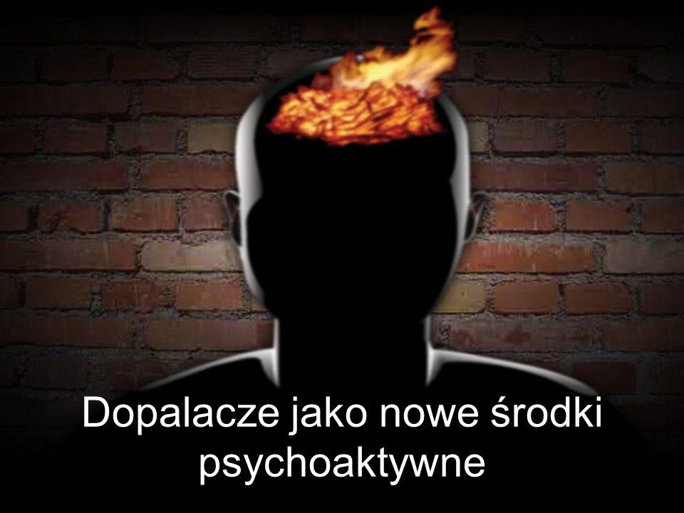 Dopalacze jako nowe środki psychoaktywne