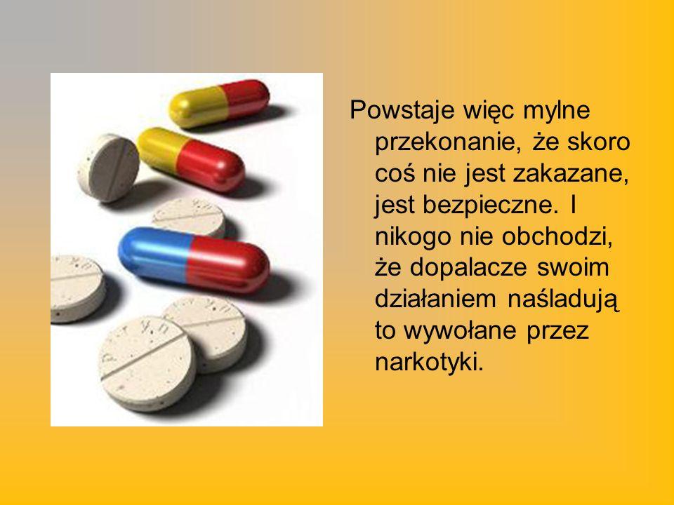 Ponadto luka w polskim prawie sprawia, że każdy, nawet najbardziej toksyczny związek, jaki są w stanie stworzyć chemicy, o ile nie zostanie wciągnięty na listę substancji zakazanych, może być sprzedawany.
