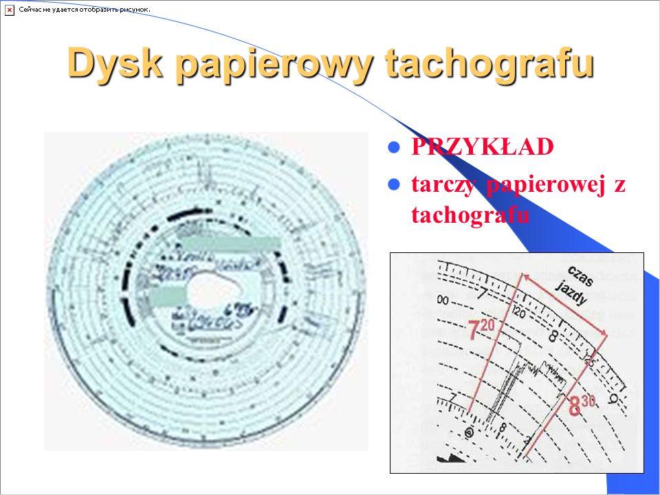 Gdzie zapisywane są dane? Tachografy analogowe rejestrują czas przebywania kierowcy za kierownicą na woskowanych dyskach papierowych. Tachografy cyfro