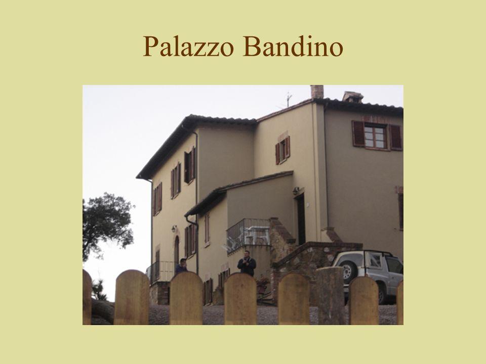 Palazzo Bandino – hol główny będący również biurem