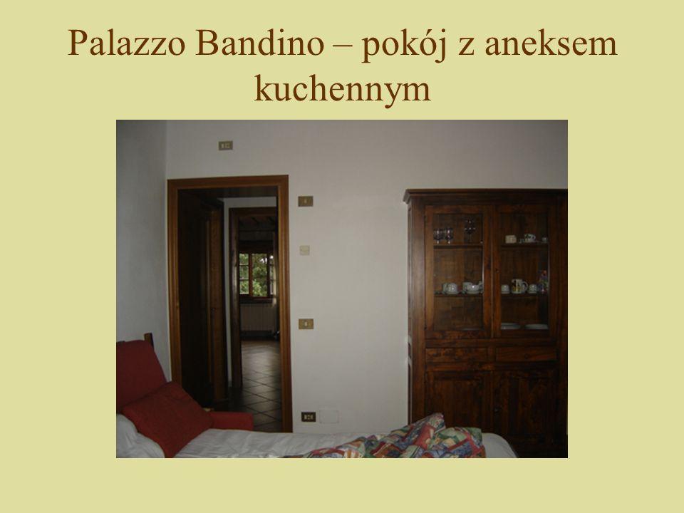 Palazzo Bandino – pokój gościnny
