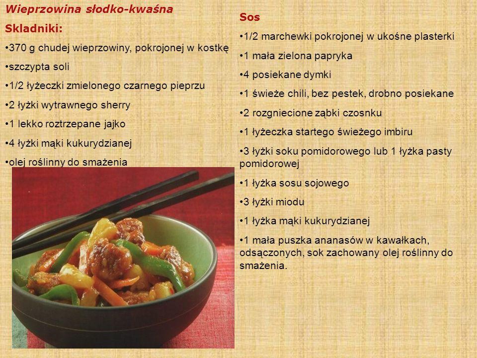 Przepis na sajgonki z farszem warzywnym Składniki: - Opakowanie placków ryżowych (można je kupić w sklepach z żywnością orientalną i w supermarketach)