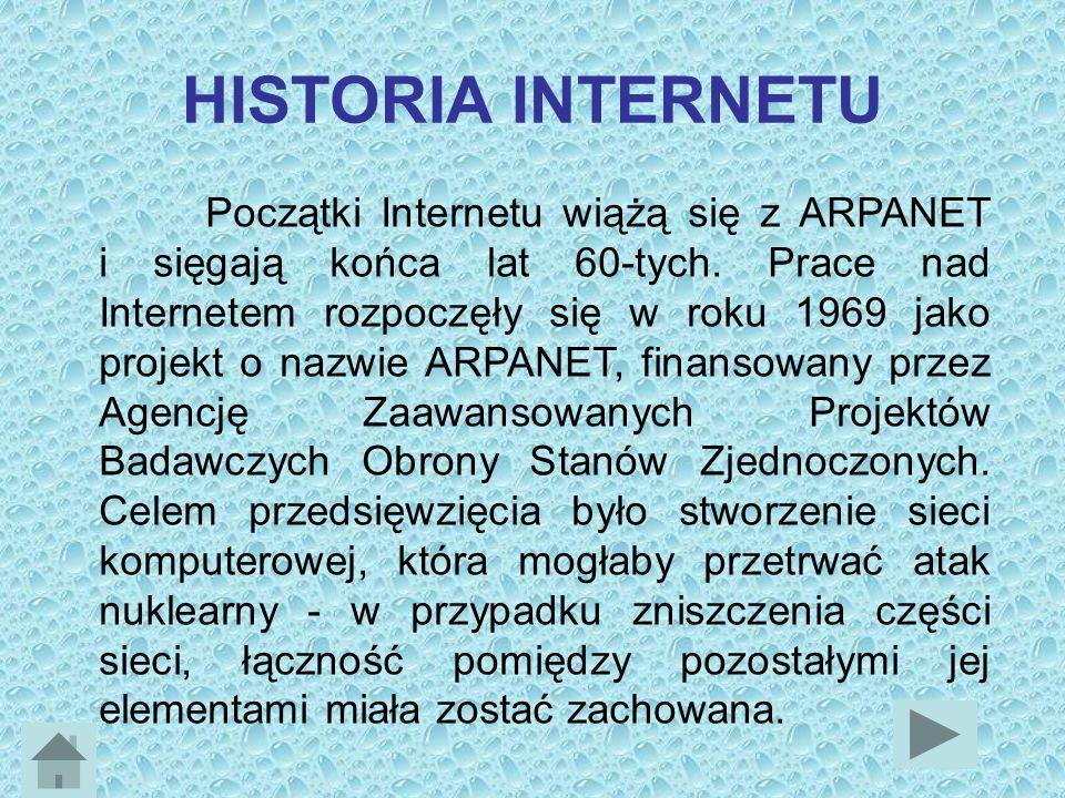 Zgodnie z definicją słowa Internet oznacza ono globalny system informacyjny spełniający następujące warunki: jest logicznie połączony w jednorodną sie