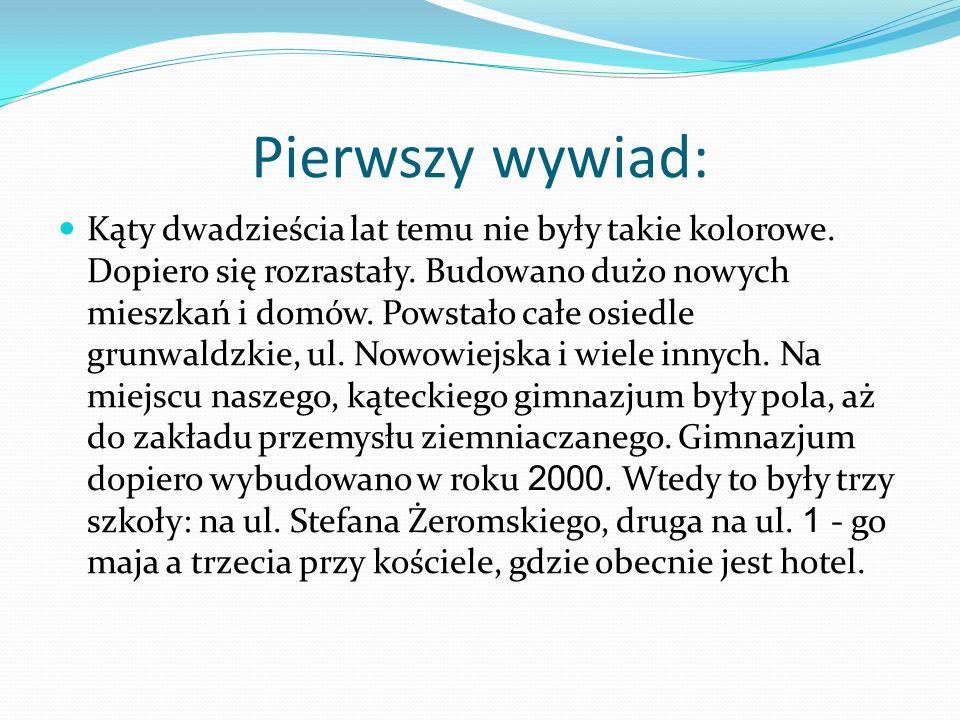 Wywiad przeprowadzony ze Stanisławą Błażków