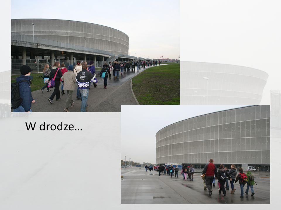 Dziękujemy Panu Rafałowi Wąsik, tacie Dominika i Pauliny, za organizację wycieczki na Stadion Miejski