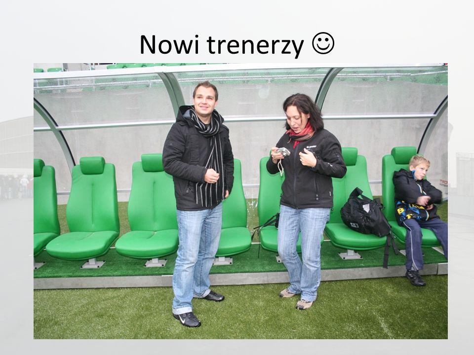 Nowi trenerzy
