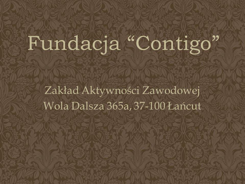 Fundacja Contigo Zakład Aktywności Zawodowej Wola Dalsza 365a, 37-100 Łańcut