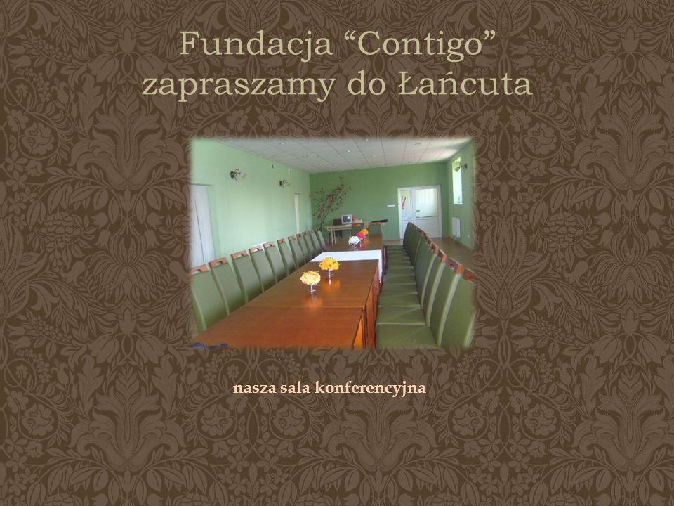 Fundacja Contigo zapraszamy do Łańcuta nasza sala konferencyjna