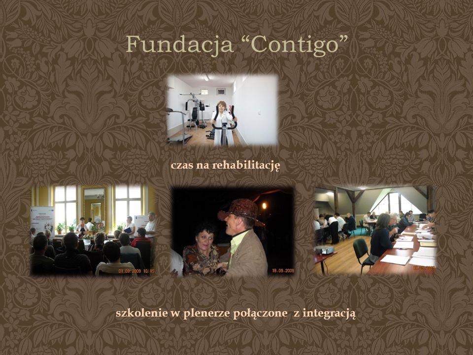 Fundacja Contigo czas na rehabilitację szkolenie w plenerze połączone z integracją