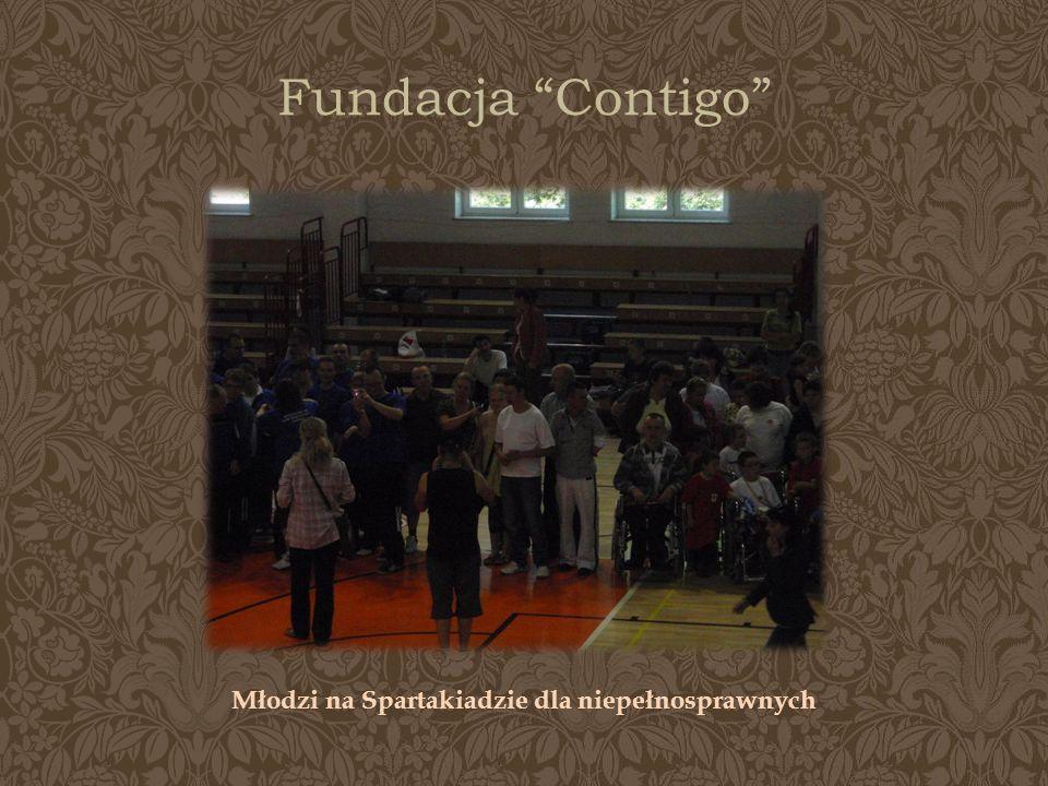 Fundacja Contigo Młodzi na Spartakiadzie dla niepełnosprawnych