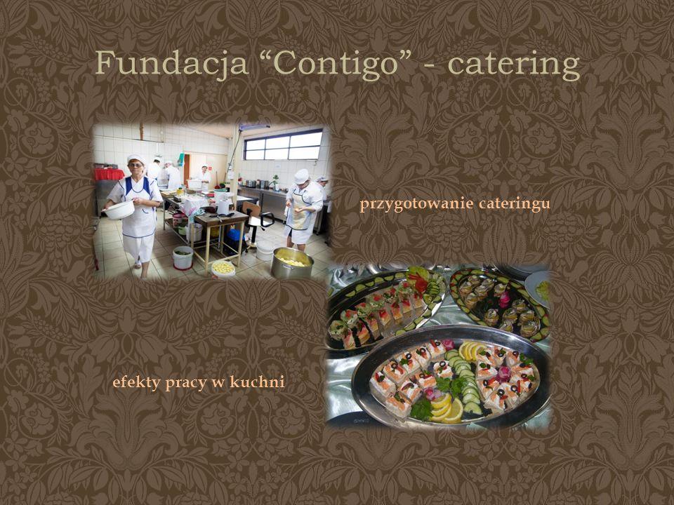 Fundacja Contigo - catering przygotowanie cateringu efekty pracy w kuchni